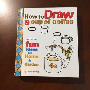 🌟2/25$ How to draw a cup  drawing activity book